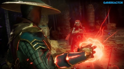 Mortal Kombat 11 - Raiden, Baraka e Skarlet Gameplay