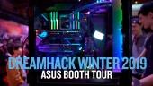 Dreamhack 19 - Tour dello stand di Asus