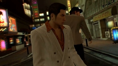 Yakuza 0: Welcome to the Neon Jungle - Trailer di lancio