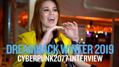 Dreamhack 19 - Cyberpunk 2077 Intervista