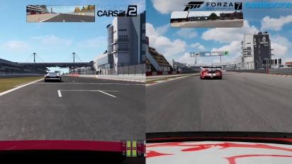 Forza Motorsport 7 vs Project CARS 2 vs Forza 6 - Video Confronto