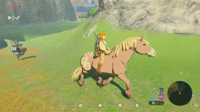 The Legend of Zelda: Breath of the Wild - Nintendo Treehouse Gameplay on Switch