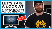 Quick Look - Gigabyte Aorus AD27QD