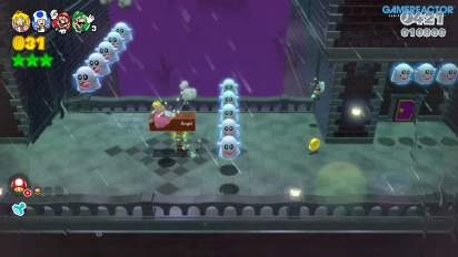 Super Mario 3D World - Nintendo Switch  Multiplayer Gameplay
