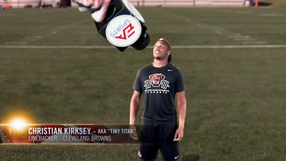 The Story of Madden NFL 15 - Tiny Titan Christian Kirksey Trailer