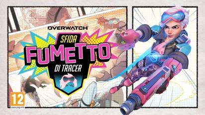 Overwatch - Sfida Fumetto di Tracer Trailer (italiano)
