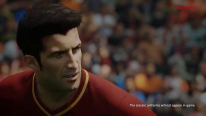 PES 2018 - Luís Figo Legend Trailer