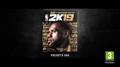NBA 2K19 - Trailer annuncio LeBron James