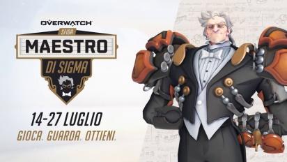Overwatch - La Sfida Maestro di Sigma Trailer (italiano)