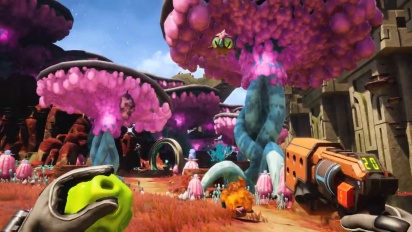 Journey to The Savage Planet - Trailer di lancio Steam (italiano)