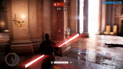 Star Wars Battlefront II - Team Battle Solo Darth Maul Gameplay - Wipe Them Out