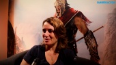 Assassin's Creed Odyssey - Intervista a Lydia Andrew