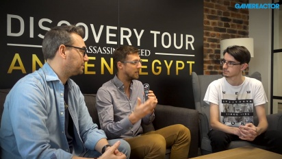 Discovery Tour by Assassin's Creed: Antico Egitto - Intervista a Maxime Durand e Jean Guesdon