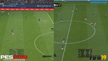 FIFA 19 vs PES 2019 - Video comparativo Full-HD