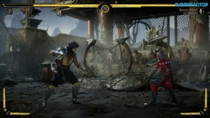 Mortal Kombat 11 - Raiden vs. Scorpion Reveal Gameplay
