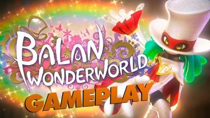 Balan Wonderworld - Gameplay