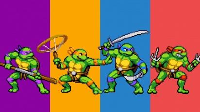 Teenage Mutant Ninja Turtles: Shredder's Revenge - Gameplay trailer