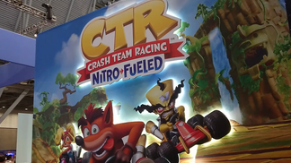 We went by CTR at Pax19